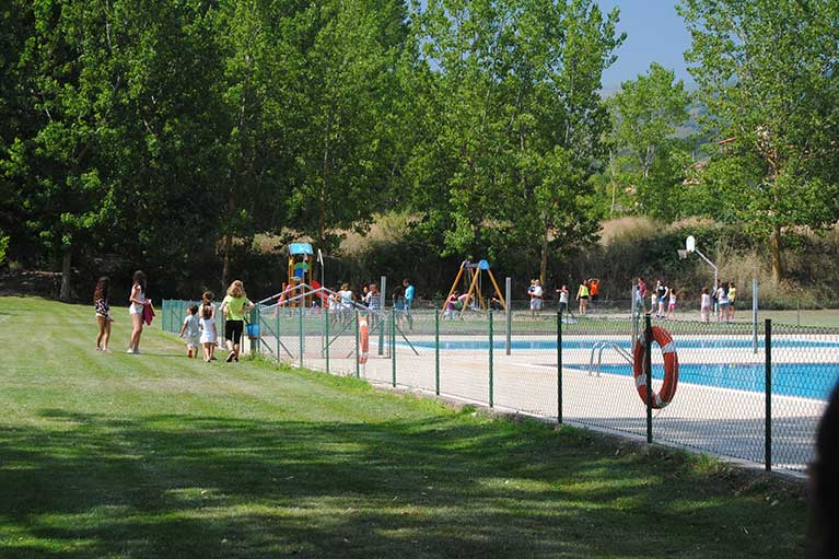 Pool - Spiele Camping Berceo