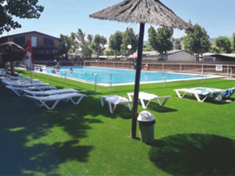 Swimming pool Camping Navarrete