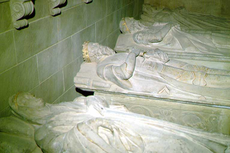 Tombs of the Kings of Navarra-Najera